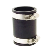 """Rubber Pipe Connector, 1 1/2"""" x 1 1/2"""""""