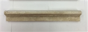 "2"" x 12"" Travertine Chair Rail Tim, Cream"