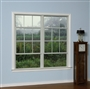 2850 375 Insulated Glass 6/6 White Single Hung Window Tilt Sash