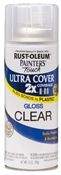 2X Painter's Touch Spray Paint Gloss Clear