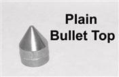 """Plain Bullet Cap 2-3/8"""""""