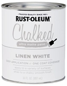 Linen White Chalked Paint, 30 Oz.