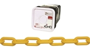 Campbell 099-0836 Straight Welded Single Loop Chain, No 8, 138 Ft L, Plastic