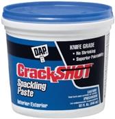 Crack Shot Spackle Paste 1 Quart