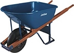 6 Cu-Ft True Temper Professional Heavy Duty Steel Wheelbarrow