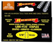 "9/16"" Staple, 1,000 Pack"