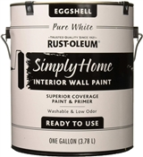 Simply Home Pure White Eggshell Interior Wall Paint