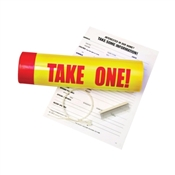 HY-KO 22130 Waterproof Take One Tube, Plastic, Red/Yellow