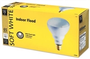 65 Watt BR30 Reflector Flood Bulb Soft White 3 Pack