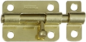 "3"" Barrel Bolt, Brass"