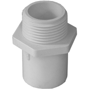 "3/4""x1"" Adapter MPT Schedule 40 PVC"