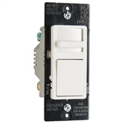 Single-Pole/3-Way, Preset CFL/LED Slide Dimmer