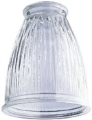 Westinghouse 81479 Lamp Shade, 2-1/4 in, Flared, Glass, Clear