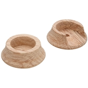 "1-3/8"" Wooden Closet Pole Socket"