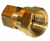 "3/8"" Compression x 3/8"" Female Pipe Thread Adapter"