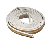 17' Extreme Temp Weather Strip White