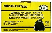 Contractor Clean Up Bags 42 Gallon