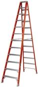 12' Fiberglass Type IA Step Ladder