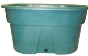 Economy Green Poly Stock Tank - 70 Gallon