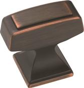 Amerock BP53029ORB Cabinet Knob, 1-3/16 in Projection, Zinc, Oil-Rubbed Bronze