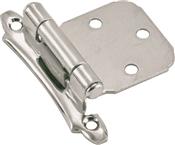 Amerock BPR342926 Cabinet Hinge, Steel, Polished Chrome