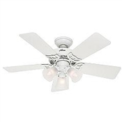 "42"" Southern Breeze Ceiling Fan - White"