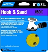 "5"" 150 Grit Hook & Loop Sand Disc - 4 Pack"