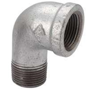 "1/4"" Galvanized Street Elbow"