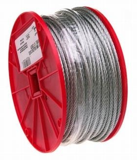 "3/16"" Galvanized Wire Rope"