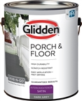 Interior/Exterior Satin Porch & Floor, Dark Gray, 1 Gallon