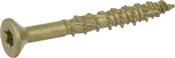 """Multi-Material Exterior Screw, #8 x 1-1/2"""", 1lb Box"""