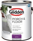 Interior/Exterior Satin Porch & Floor, Light Gray, 1 Gallon