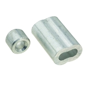 National Hardware V3231 Series N283-861 Ferrule and Stop, 3/16 in Dia Cable, Aluminum