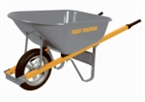 6 Cu-Ft True Temper Wheelbarrow With Steel Handles
