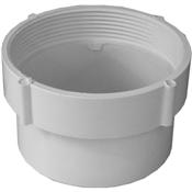 """6"""" PVC S&D Fitting Cleanout Body (SpxFIP)"""
