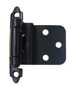 "3/8"" Self Closing Inset - Black"