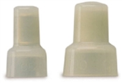 Pigtail Connector White 22-14 AWG 10 Pack