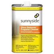 Sunnyside Gloss Remover & Pre-Paint Cleaner, 1 Quart