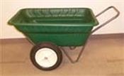 Dura Cart/Dolly - Green 7 Cubic Feet