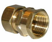 "5/8"" Compression x 1/2"" Female Pipe Thread Adapter"