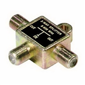 2 Way Coaxial Cable Splitter