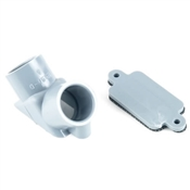 "1/2"" Non-Metallic Pull Elbow W/ Gasket"