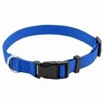 "Pet Expert Adjustable Dog Collar, Blue, 3/8"" x 8-12"""