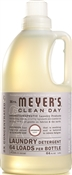 Clean Day 14531 Concentrated Laundry Detergent, 64 Oz, Bottle, Liquid, Lavender