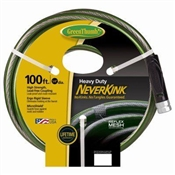 "100' 5/8"" NeverKink Self-Straightening Garden Hose"