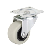 Prosource JC-N03-G Swivel Caster, 2 in Dia Wheel, 105 lb Weight Capacity, Thermoplastic Rubber Wheel