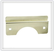 "6"" Latch Guard Brass"