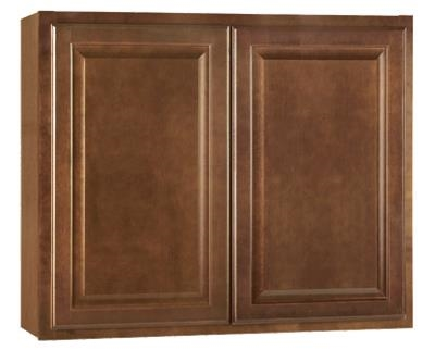 "36""W x 30""H x 12""D Wall Cabinet Cafe Finish"