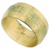 "3/8"" Brass Compression Sleeve"