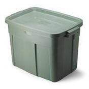 Storage Tote 18 Gallon Gray